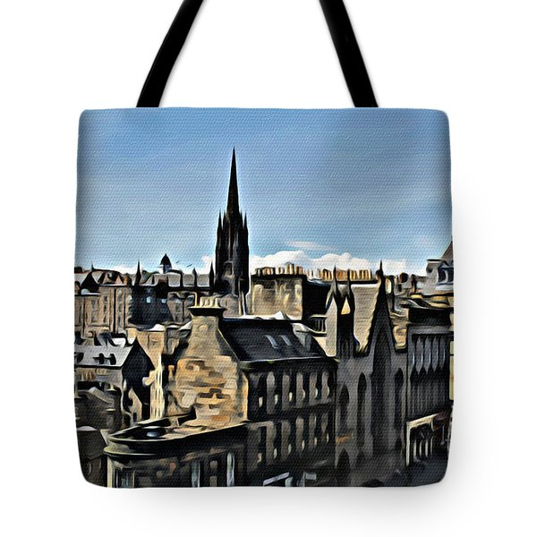 Olde Edinburgh Tote Bag