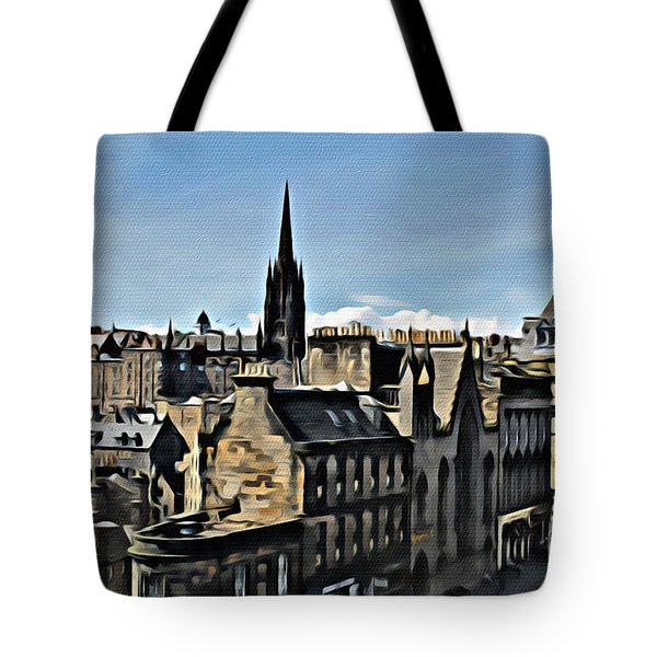 Olde Edinburgh Tote Bag