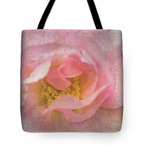 Old English Rose Tote Bag by Liz  Alderdice