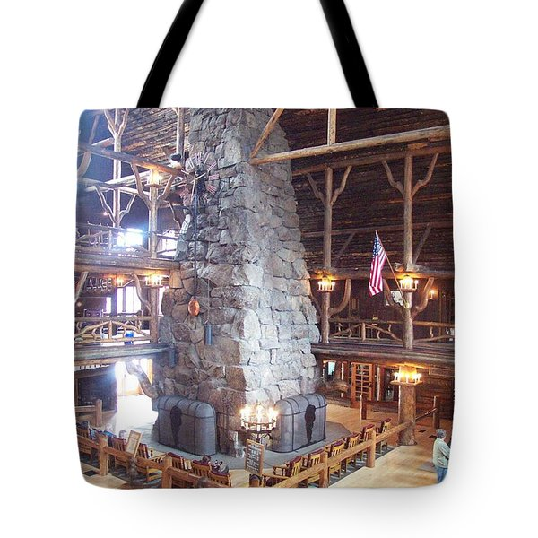 Old Faithful Inn Tote Bag