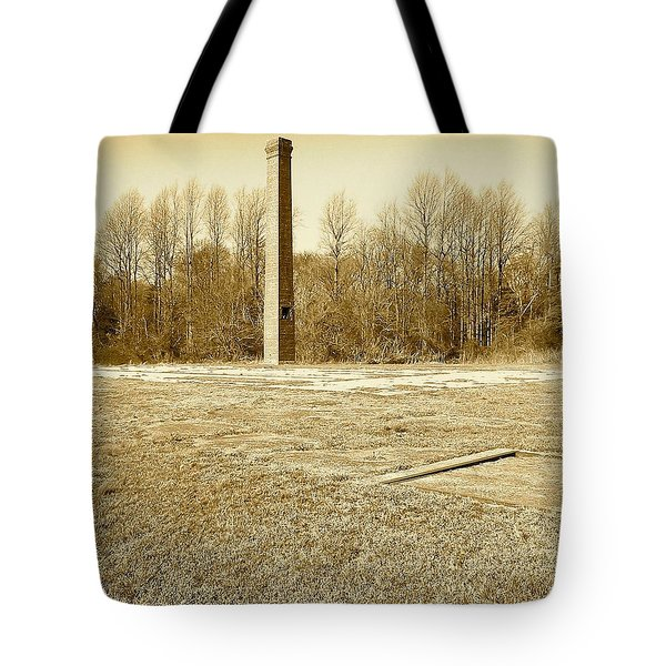 Old Faithful Smoke Stack Tote Bag