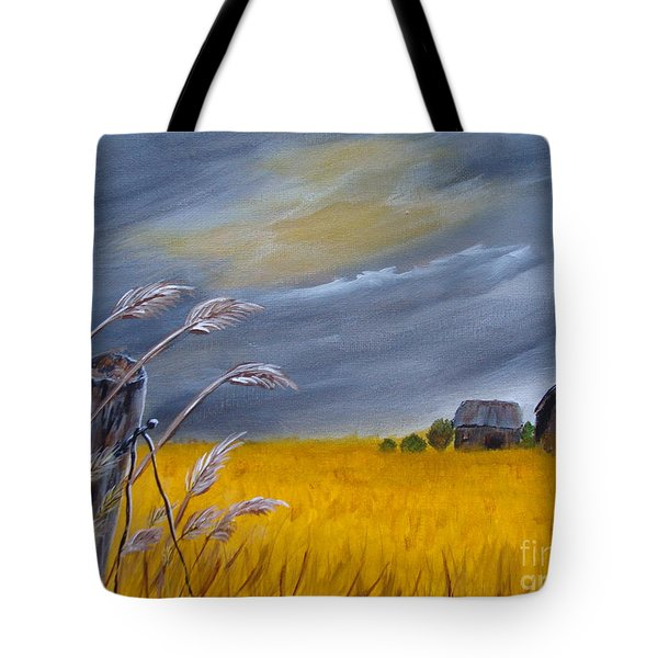 Old Farm 1 Tote Bag by Beverly Livingstone