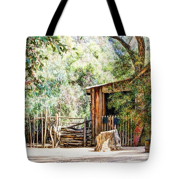 Old Farm Building Tote Bag