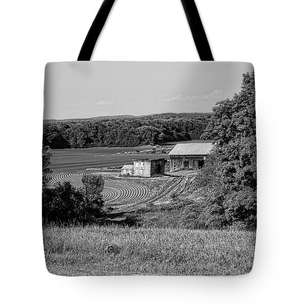Old Farm House Revisited Tote Bag