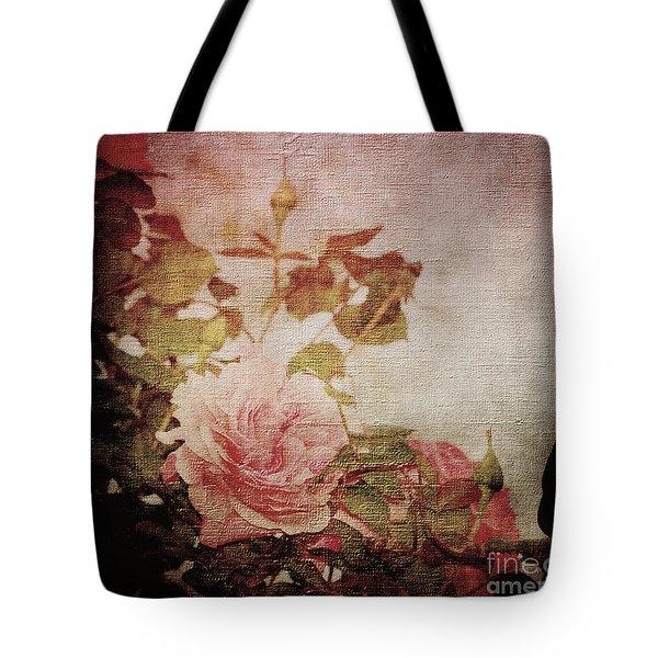 Old Fashion Rose Tote Bag