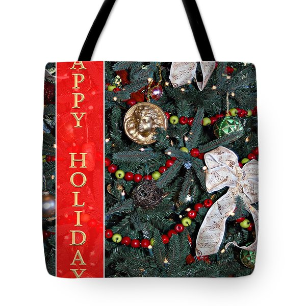 Old Fashioned Christmas Tote Bag by Carolyn Marshall
