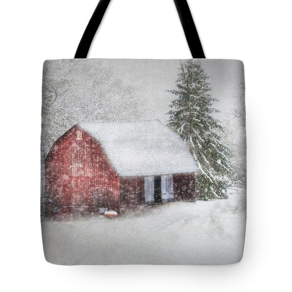 Old Fashioned Christmas Tote Bag by Lori Deiter
