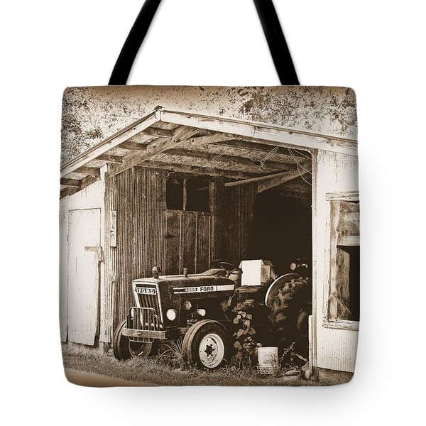 Tote Bag featuring the photograph Old Ford by Faith Williams