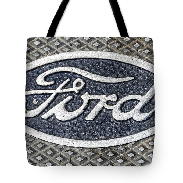 Old Ford Symbol Tote Bag