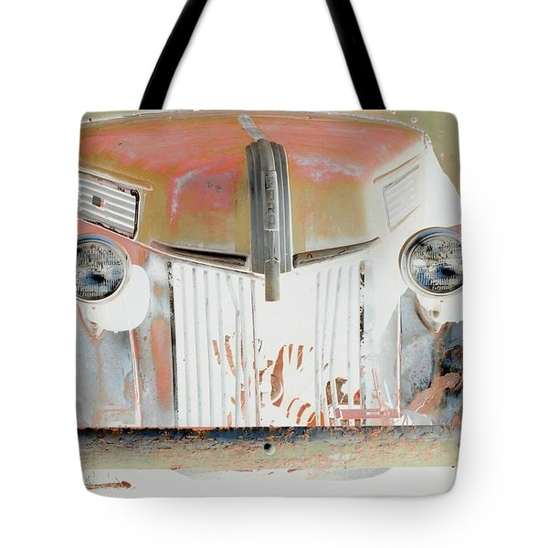 Old Ford Truck - Photopower Tote Bag