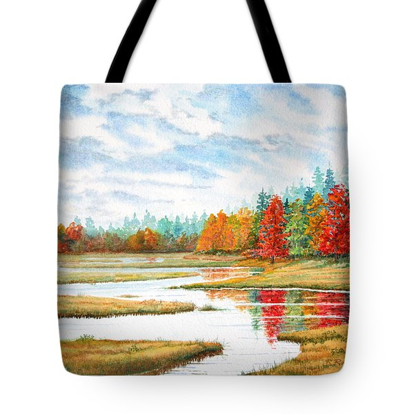 Old Forge Autumn Tote Bag by Roger Rockefeller