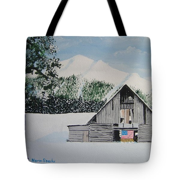 Old Forgotten But Still Proud Tote Bag by Norm Starks