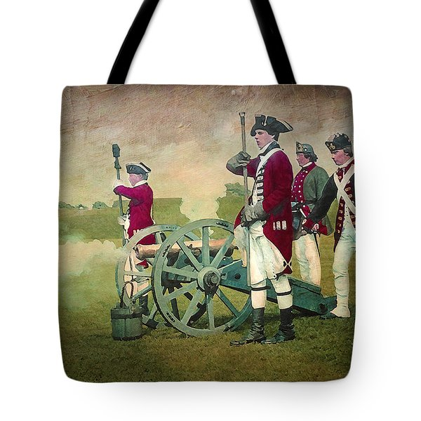 Tote Bag featuring the digital art Old Fort Niagara by Lianne Schneider