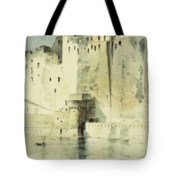 Old Fortress Naples Tote Bag by Childe Hassam