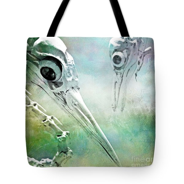Tote Bag featuring the photograph Old Friends by Chris Scroggins