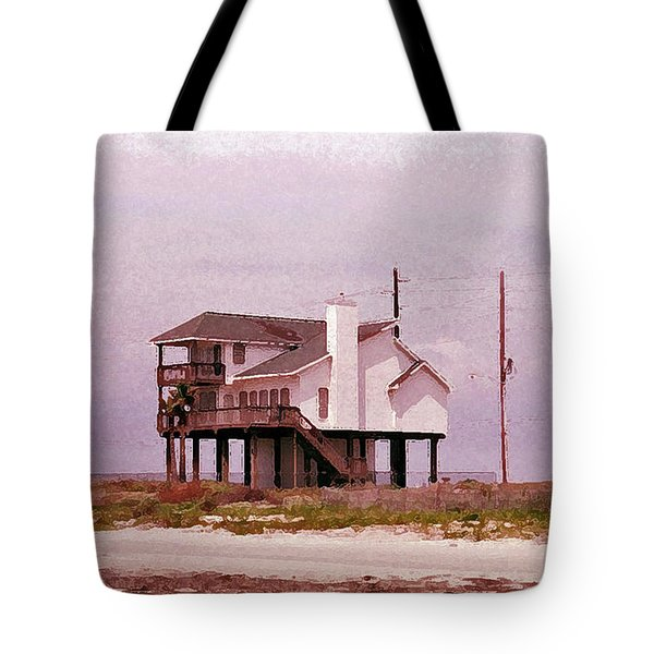 Old Galveston Tote Bag by Tikvah's Hope