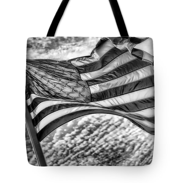 Old Glory Tote Bag by Jack Torcello