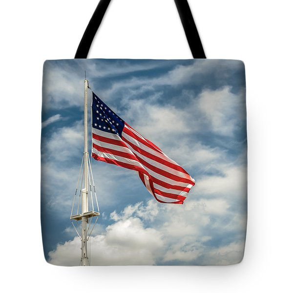 Old Glory Tote Bag by James Barber