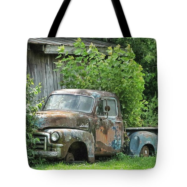 Old Gmc Tote Bag