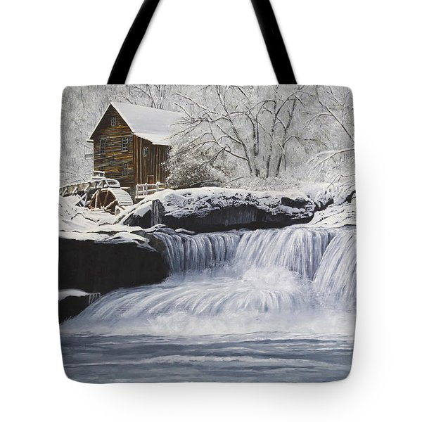 Old Grist Mill Tote Bag by Johanna Lerwick