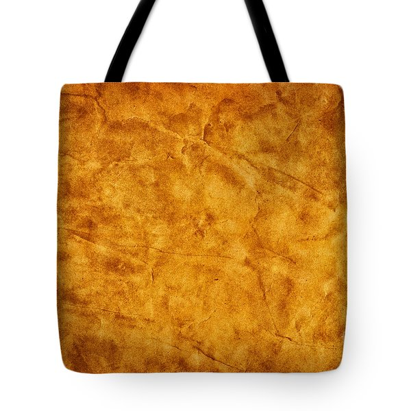 Old Grunge Creased Paper Background Tote Bag by Michal Bednarek