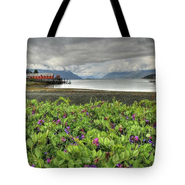 Old Haines Cannery Tote Bag