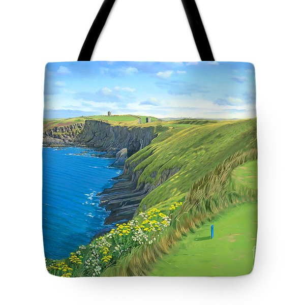 Old Head Golf Club Ireland Tote Bag
