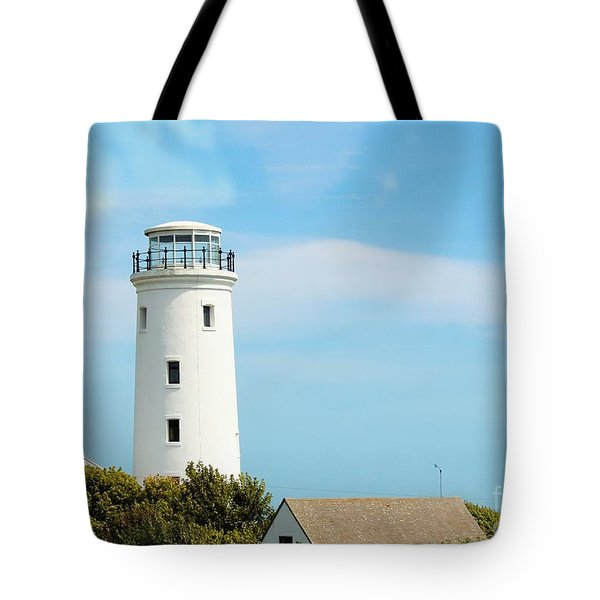 Old Higher Lighthouse Tote Bag