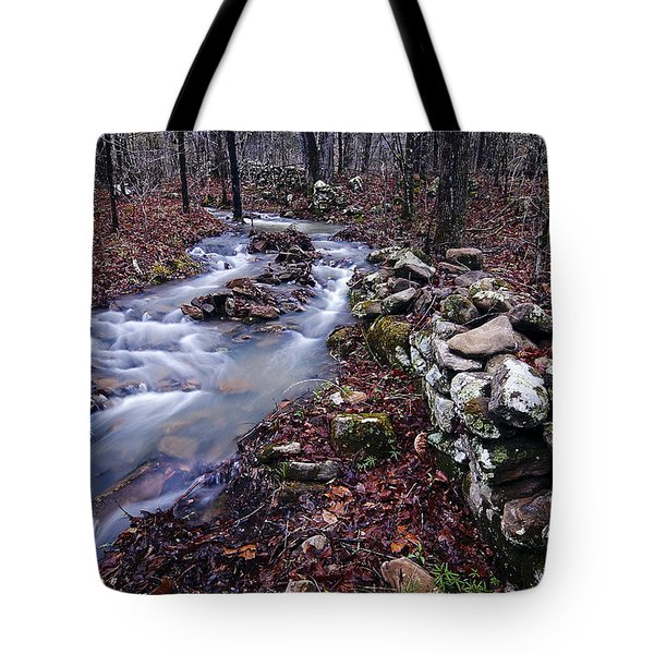 Tote Bag featuring the photograph Old Homestead by Andy Crawford