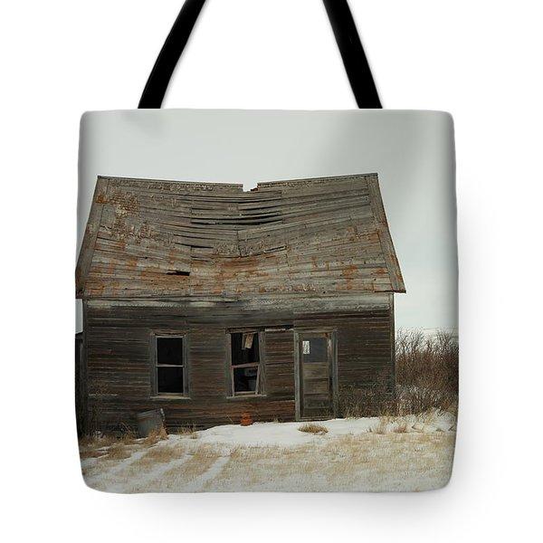 Old Homestead North Dakota Tote Bag by Jeff Swan