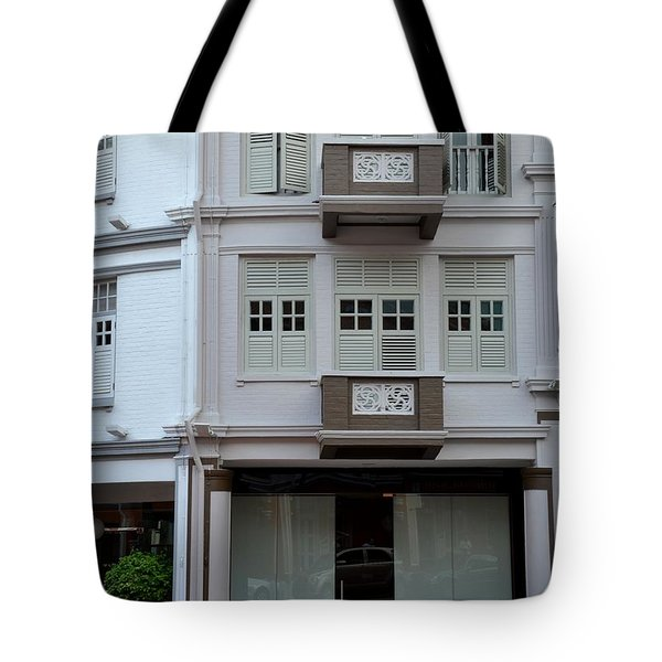 Tote Bag featuring the photograph Old House And Funky Orange Car by Imran Ahmed