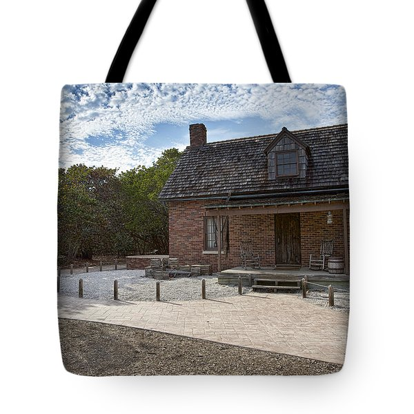 Old House At Bill Baggs Tote Bag by Eyzen M Kim