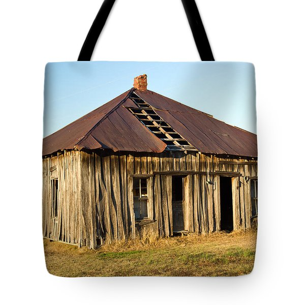 Old House Place Arkansas 2 Tote Bag by Douglas Barnett