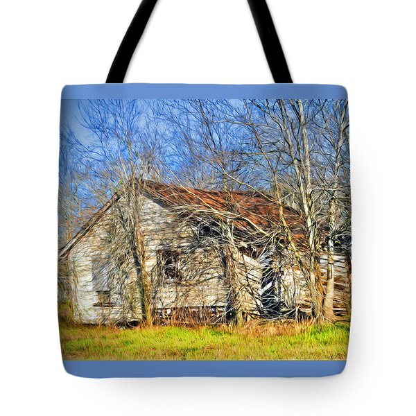 Old House Tote Bag by Savannah Gibbs
