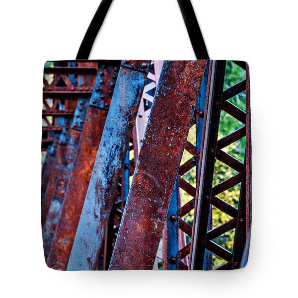 Old Iron Tote Bag