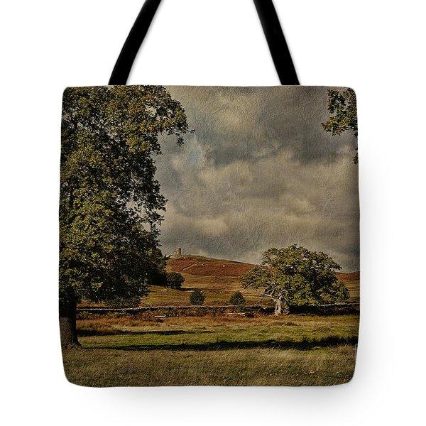 Old John Bradgate Park Leicestershire Tote Bag by John Edwards