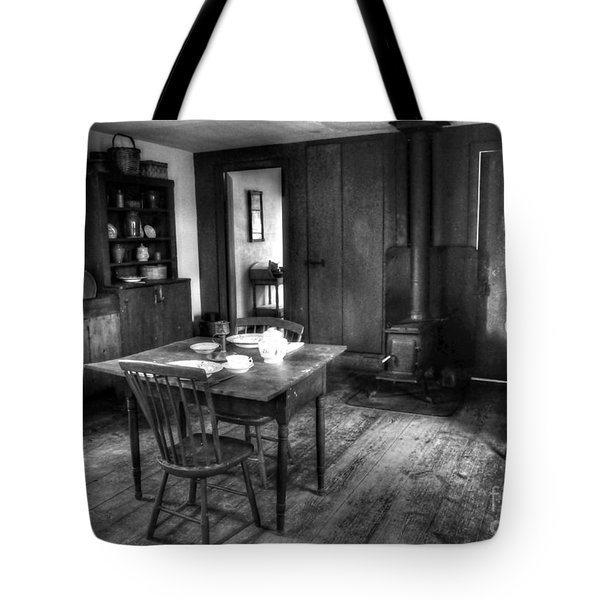 Old Kitchen Tote Bag by Kathleen Struckle