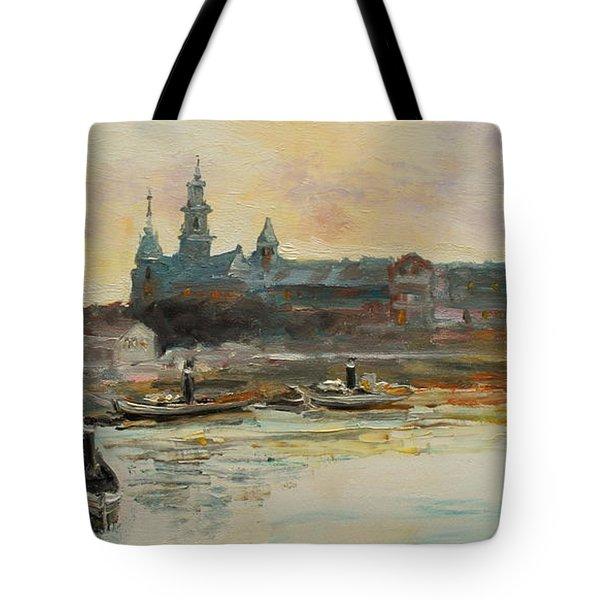 Old Krakow Tote Bag