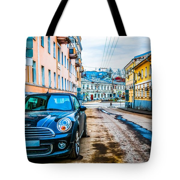 Old Lane Tote Bag by Alexander Senin