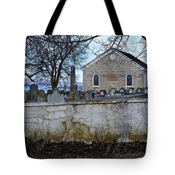 Old Leacock Presbyterian Church And Cemetery Tote Bag