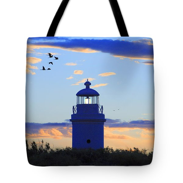 Tote Bag featuring the photograph Old Lighthouse by Bernardo Galmarini