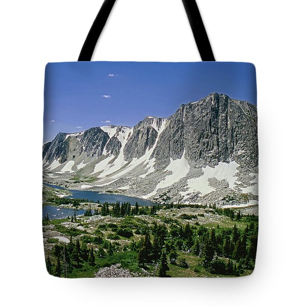 M-09702-old Main Peak, Wy Tote Bag