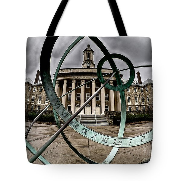 Old Main Through The Armillary Sphere Tote Bag