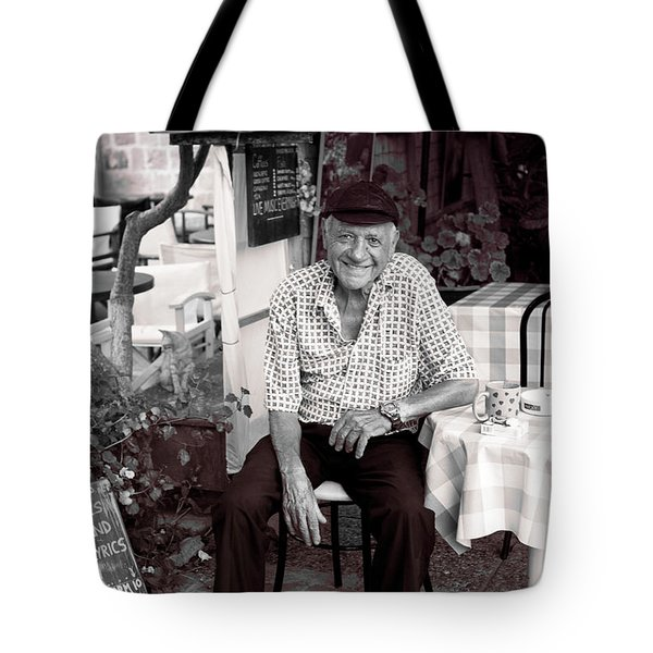 Old Man Of Old Town Tote Bag