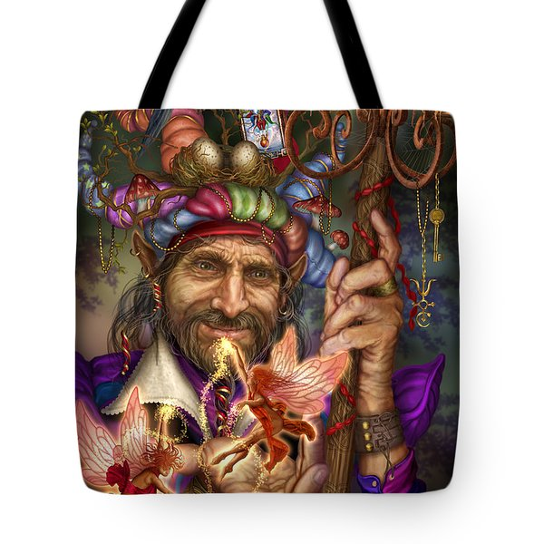 Old Man Of The Woods Tote Bag by Ciro Marchetti