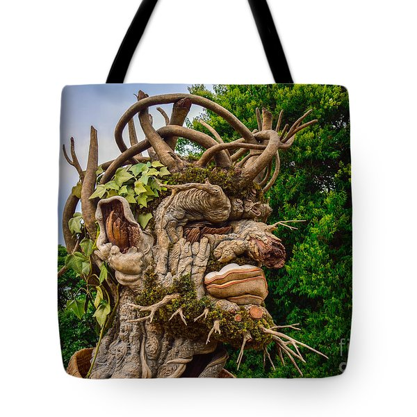 Old Man Winter Tote Bag