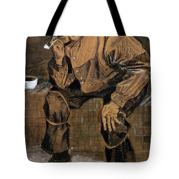 Old Man With A Pipe, 1883 Tote Bag