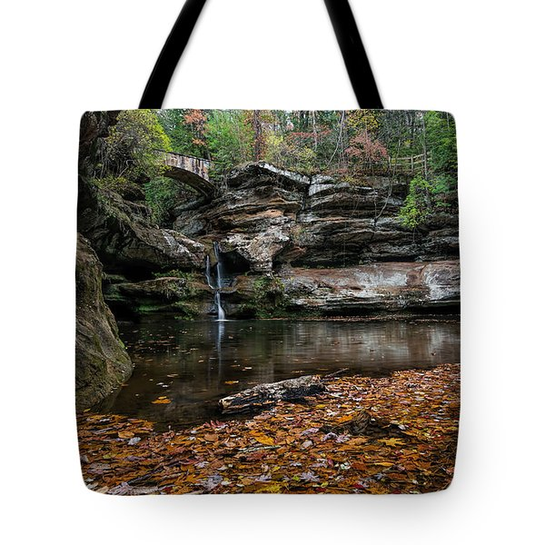 Old Mans Cave Tote Bag by James Dean