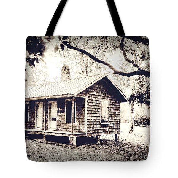Old Masonboro Slave Cottage Tote Bag