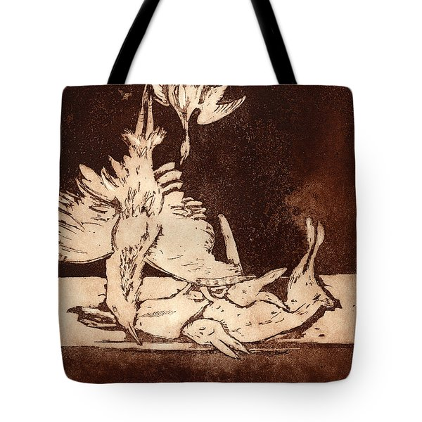 Old Masters Still Life - With Great Bittern Duck Rabbit - Nature Morte - Natura Morta - Still Life Tote Bag